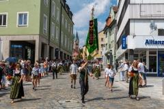 Festzug Klingendes Cham 2018