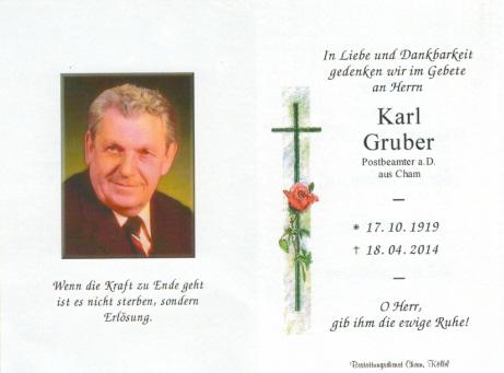 Karl Gruber1